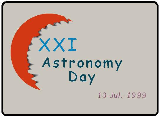 Logo del XXI Astronomy Day