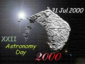 Logo del XXII Astronomy Day
