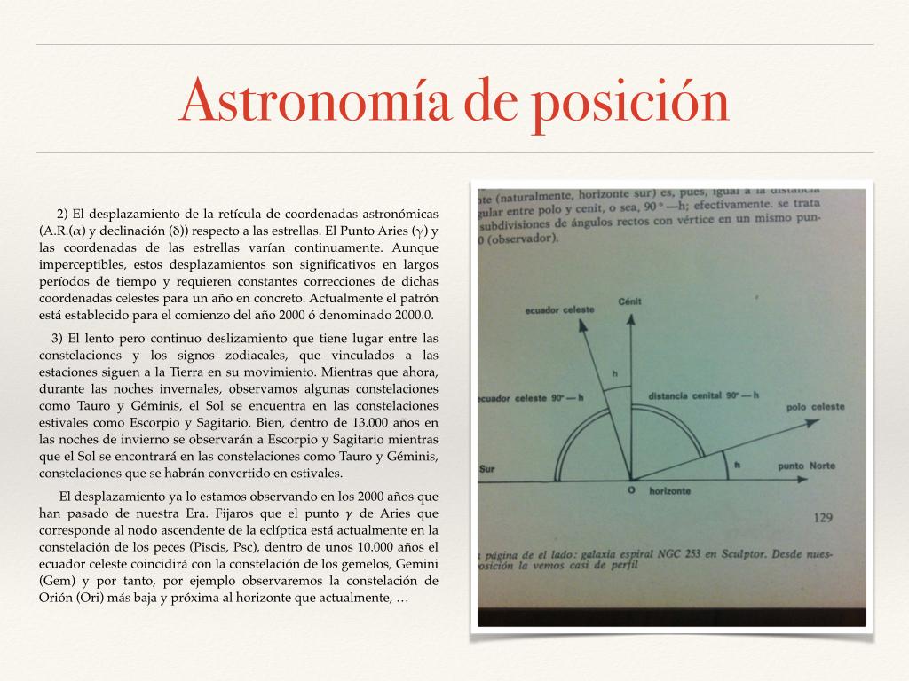 Astronomía de posición fotos.006