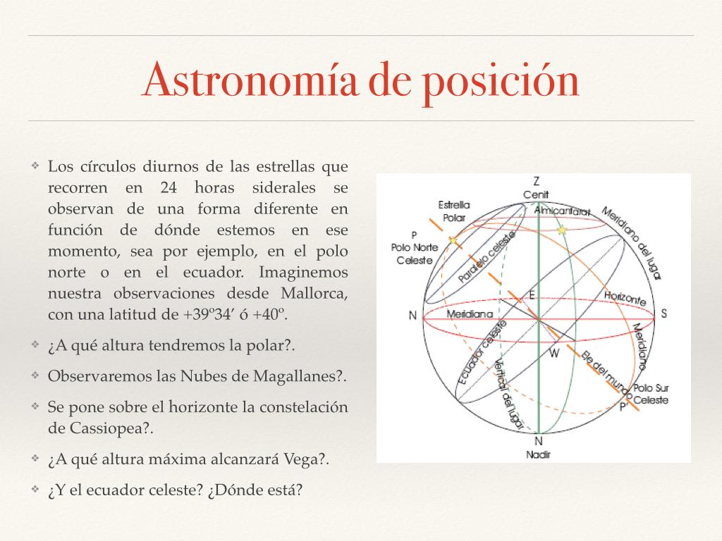 Astronomía de posición fotos.007